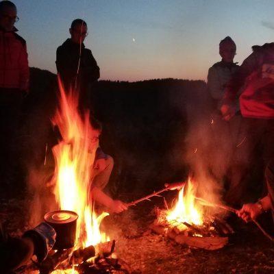 Monte Grappa-attorno al fuoco